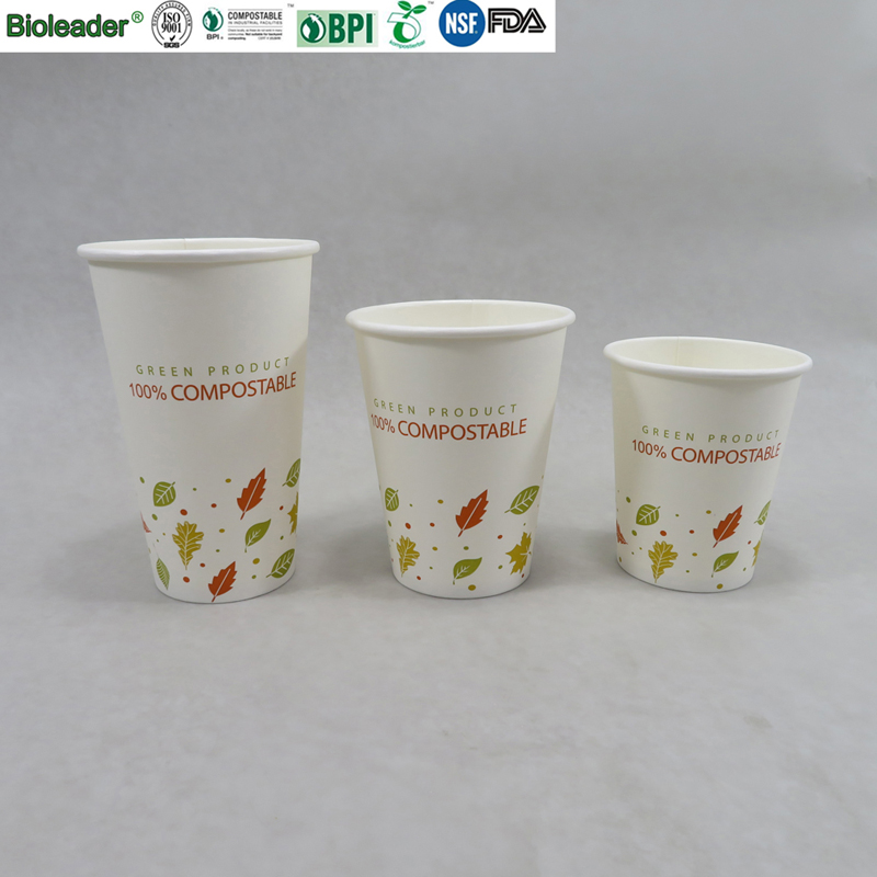 PLA Paper Cup (Biodegradable)