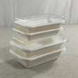 Tray with Lid(Set-1) (12,16,24,32oz)